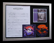 GARY MOORE Walking Myself TOP QUALITY MUSIC CD FRAMED DISPLAY+FAST GLOBAL SHIP