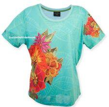 Laurel Burch T Shirt Short Sleeve Polyester Flora Floral New XL New Retired