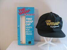 """WINSTON BASEBALL CAP INTRODUCING """"THE WRAP"""" PROMOTIONAL SNAPBACK CAP 1991 NIB"""
