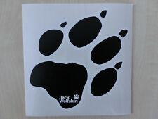 großer Jack Wolfskin Aufkleber,Sticker,Pfote,Tatzen, Tatze, transparent, WOLF, 9