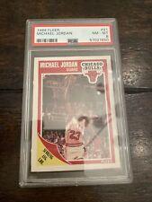 1989 Fleer Michael Jordan #21 Basketball Card Bulls HOF PSA 8 NM-MT Near Mint-M