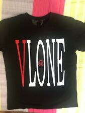 Red Dragon VLONE Short Sleeves T-shirt  Color Black Size Large