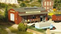 PIKO HO SCALE 1/87 PETER'S GIG BAGS & CASES FACTORY BUILDING KIT   BN   61833