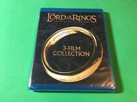 The Lord of the Rings Blu-ray Trilogy Triple 3 Film Collection Series New sealed