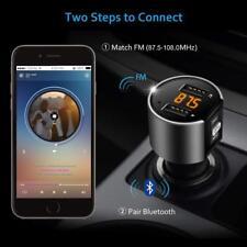 Kit de Voiture Transmetteur FM sans fil Bluetooth Kit Chargeur Dual USB