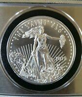 Walking Dead The Saint zombie zombucks 1 oz .999 silver st guadens hero girl