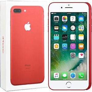 BNIB Apple IPhone 7 Plus Special Ed. 128GB + 3GB Red Factory Unlocked 4G/LTE GSM