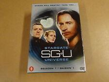 6-DVD BOX / SGU - STARGATE UNIVERSE  - SEIZOEN 1 / SAISON 1
