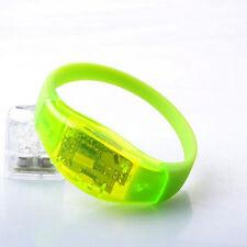 Party Light Voice Control Concert Bracelet LED Glow Wristbands Flash Bangle