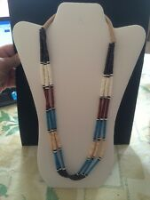 Native American Zuni Necklace #1 Corrine Tuliey 26 Inch Jewelry Stunning!!!!!