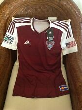 bf79748d1 ADIDAS AUTHENTIC COLORADO RAPIDS MLS SOCCER JERSEY NEW With Tags Size S  Men s