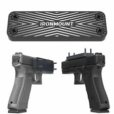 Magnetic Gun Holster - IronMount Rubber Coated 43 Lbs Rated Gun Magnet Mount...