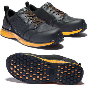 Timberland PRO Boots Men Reaxion Composite safety toe Leather Work Shoes