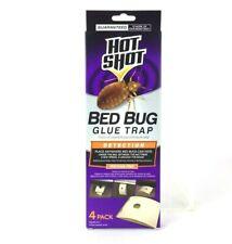 Hot Shot Bed Bug Glue Trap Disposable Detection System 4 Pack