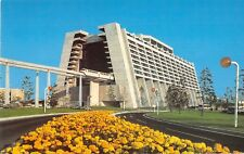 Disney World postcard Contemporary Resort monorail 01110252