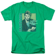 MacGyver Tv Show A Paperclip Can Be Wonderous Adult T-Shirt All Sizes