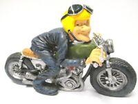 Motociclista Motociclista Funny Profesión Figura Profesión 16CM Nuevo
