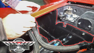 C3 Corvette Custom Fiberglass Heater Block Off Panel 1968-1976- Made in USA