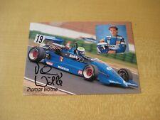 Autogramm Thomas Wöhrle Renault elf Card 10x15cm original signiert