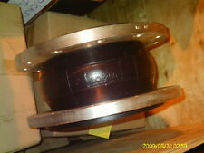 "10"" 150# FLANGE  X  8"" WIDE AMS SERIES SINGLE SPHERE RUBBER EXPANSION JOINT"