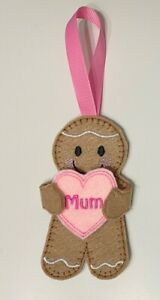 Lockdown Gingerbread Man Mum Mother's Day Birthday Valentine Anniversary Hanger