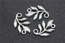 Wholesale 50pcs tibet silver Alloy exquisite branch charm Connector 14mm