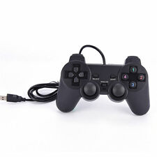 USB Gamepad Gaming Joystick Wired Game Controller For Laptop Computer PC Black