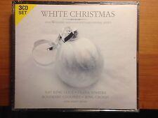 White Christmas CD,Crosby, Sinatra, Martin, Clooney,Cole 3 Discs,  CANADA IMPORT