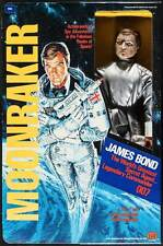 MOONRAKER JAMES BOND MEGO TOY ACTION FIGURE BOX 1979 ROGER MOORE