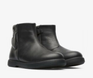 Camper Girls Duet Boots in Black Leather ( New Season)