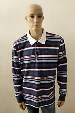 Polo TOMMY HILFIGER Uomo T-Shirt Maglia Jersey Man Maglietta Shirt Taglia 2XL