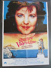 SHIRLEY VALENTINE - Filmplakat A1 - Pauline Collins, Tom Conti