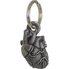 Anatomical Heart Locket Keychain