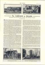 1914 Polish Campaign Halich Plock Kutno Lodz