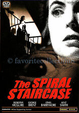 The Spiral Staircase (1945) - Dorothy McGuire, George Brent - DVD NEW
