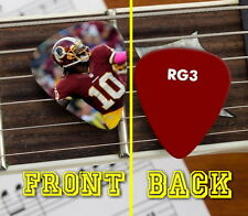 Washington Redskins Robert Griffin III RG3 Promo Premium Guitar Pic Pick
