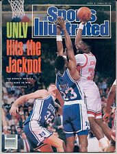 Sports Illustrated UNLV Moses Scurry Brian Davis Christian Laettner NO LABEL