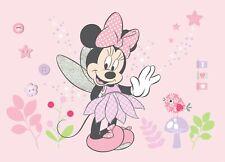 Wandbild Tapete Minnie Mouse 160x110cm Kinderzimmer Schlafzimmer Disney Pink