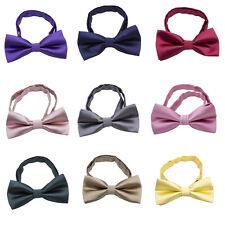 Fashion Baby Kids Boy Toddler Wedding Bow Tie Party Bowtie Pre-Tied Necktie