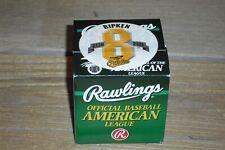 Sealed Cal Ripken Jr Major League Rawlings AL Baseball -  2131 Consecutive Games