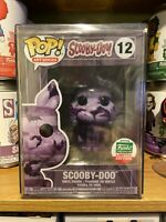 Funko Pop Scooby-Doo #12 Art Series Funk Shop LE Sealed Hardstack Protector Mint