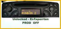 Original Mercedes Audio 10 CD PROD OFF BECKER  BE4410  W203 W209 W639 W463