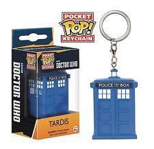 Pocket POP! Doctor Who Tardis Vinyl Figure Keychain - New!