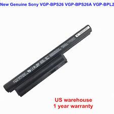 Genuine Battery VGP-BPS26 VGP-BPL26 For SONY VAIO CA CB EG EH EJ Laptop NEW