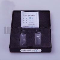 LOT2 5mm Optical Quartz Glass Cuvettes Cell for Spectrophotometer