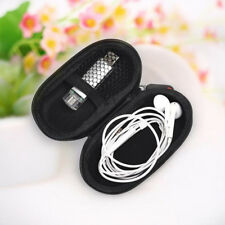11.5cm Storage Bag Hard Hold Case for Earphone Headphone Earbuds Mp3 USB Cable