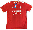 LIVERPOOL 1985/86-HOME RED ADIDAS RETRO FOOTBALL SHIRT-EXTRA LARGE ADULT-BNWT
