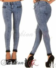 Cotton Stonewashed Slim, Skinny L32 Jeans for Women