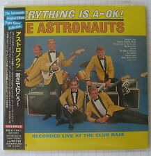 THE ASTRONAUTS - Everything Is A-Ok! JAPAN MINI LP CD NEU BVCM-35378