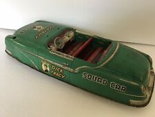 Vintage Marx Large Dick Tracy Squad Car